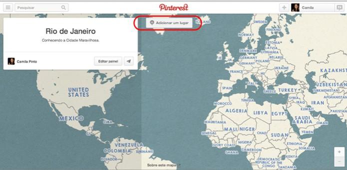 Adicione um lugar para começar a montar seu painel (Foto: Reprodução/ Pinterest) (Foto: Adicione um lugar para começar a montar seu painel (Foto: Reprodução/ Pinterest))