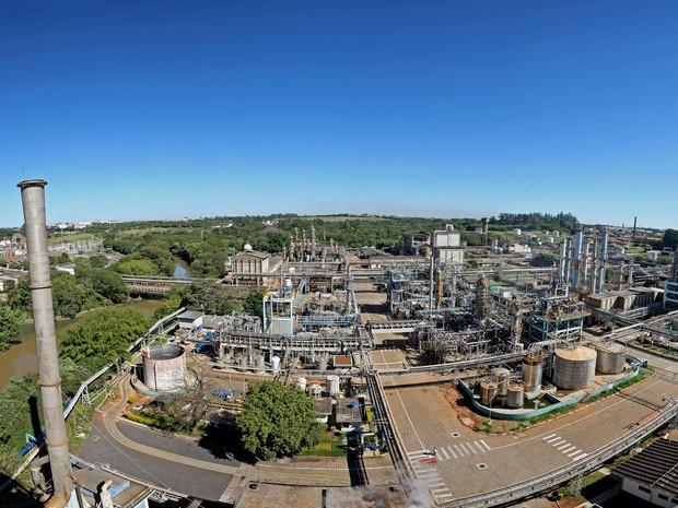 Fábrica da Rodhia em Paulínia é uma das unidades que receberá os estagiários (Foto: Divulgação/Rhodia)