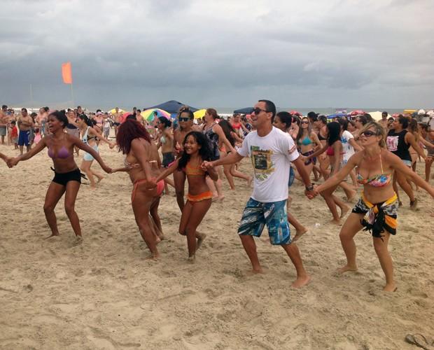 Com o Pontal + Verão todo mundo se diverte (Foto: Divulgação/RPC)