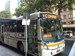 Ônibus, passagem (Foto: Felipe Truda/RBS TV)