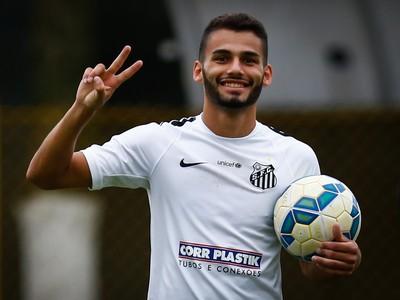 Thiago Maia - Santos (Foto: Ricardo Saibun / Divulgação SantosFC)