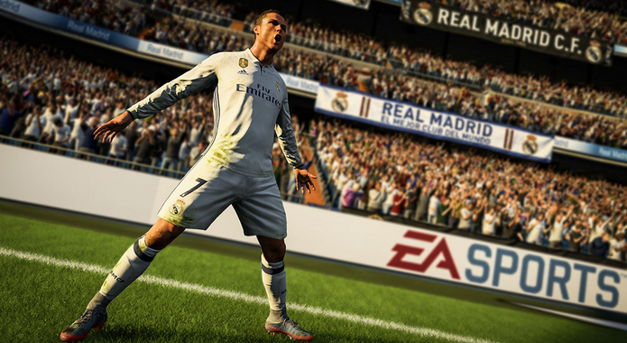Cristiano Ronaldo é a grande estrela de FIFA 18 (Foto: Divulgação)
