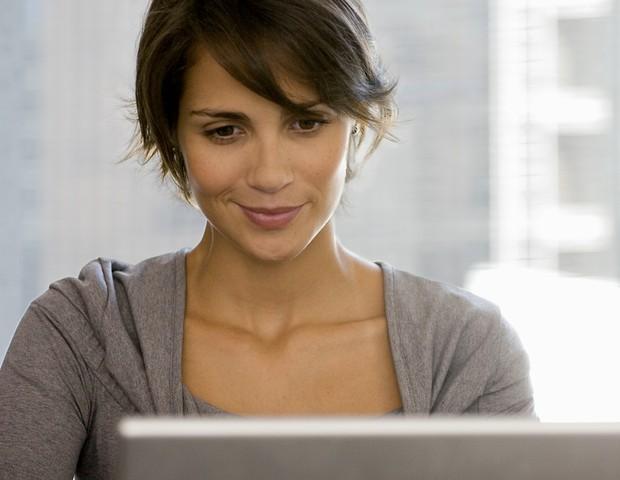 mulher; computador; internet (Foto: Thinkstock)
