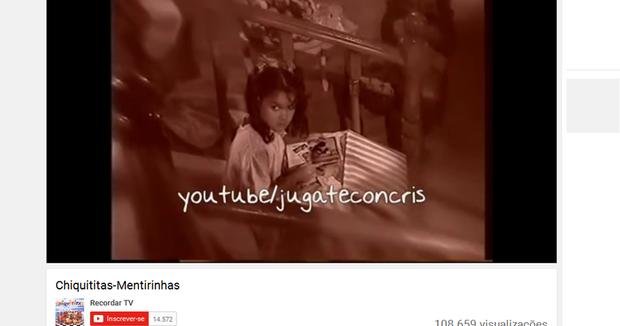 Mentirinhas, de Chiquititas (Foto: Reprodução/Youtube)
