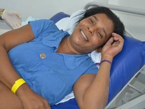 Mãe não sabia da gravidez e levou um susto ao dar a luz de bebê (Foto: Projeto Araguaína/Divulgação)