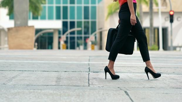 salto alto - mulher  (Foto: Thinkstock)