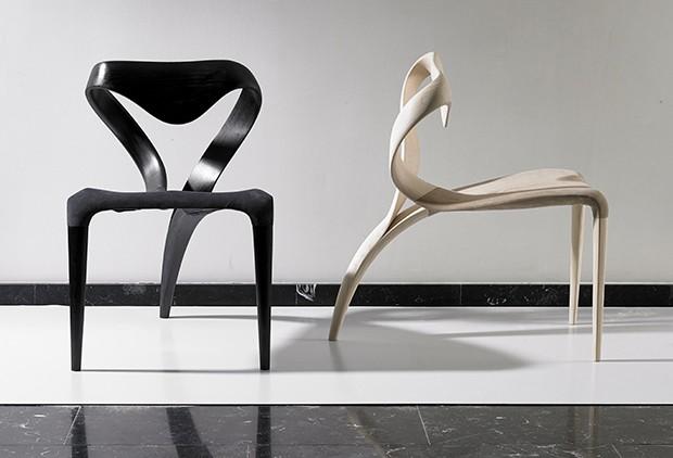 Os móveis-escultura de Joseph Walsh (Foto: Andrew Bradley)