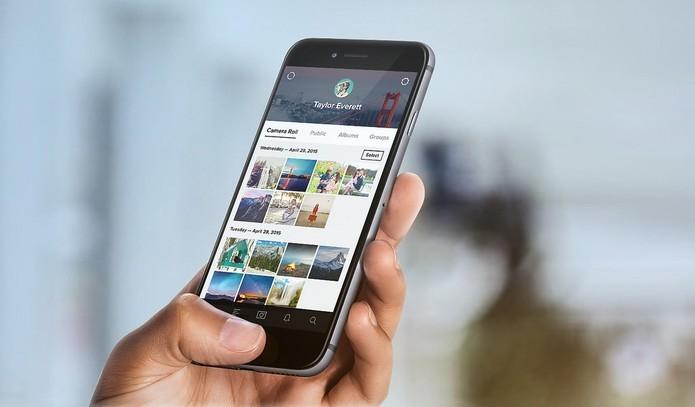 O app do Flickr para smartphones também foi reformulado recentemente (Divulgação/Flickr)