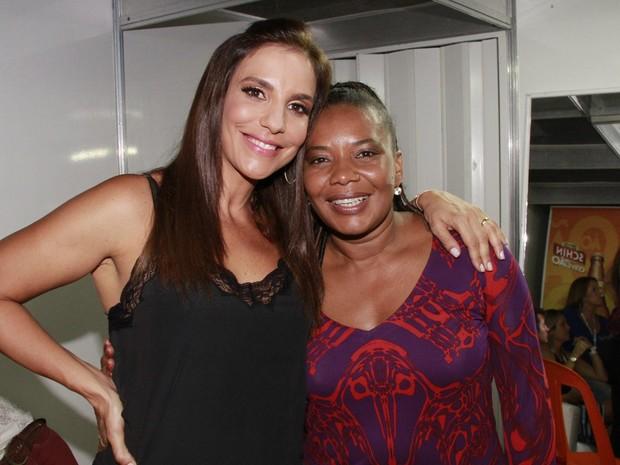 Ivete Sangalo e Margareth Menezes em Salvador, an Bahia (Foto: Isac Luz/ EGO)