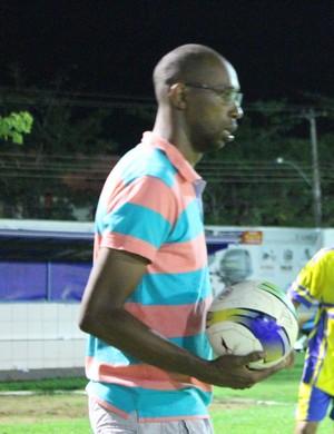 Robson Lino - técnico do Rolim de Moura (Foto: Emanuele Madeira/GloboEsporte.com)