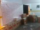 Mais de 20 mil maços de cigarros contrabandeados são apreendidos