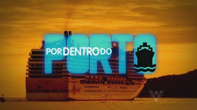 Por dentro do porto (Foto: Reprodução/TV Tribuna)