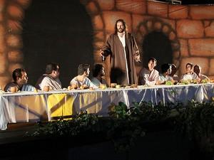 Cena da Paixão de Cristo em Araraquara (Foto: Divulgação/ Prefeitura de Araraquara)