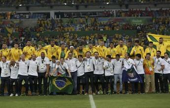 Ouro com a seleção brasileira, Marcos Seixas é homenageado pelo Figueira