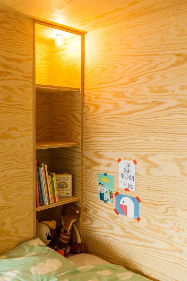 O interior do móvel também conta com espaço para livros e outros acessórios (Foto: Divulgação)
