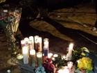 Fãs fazem vigília em local da morte de Paul Walker