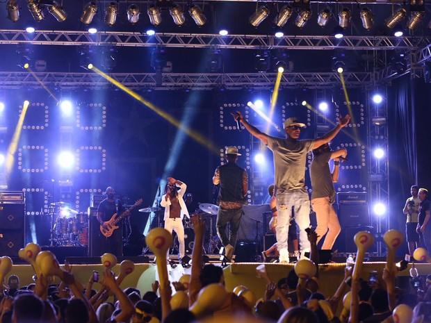 Melanina Carioca também fez show em Florianópolis (Foto: José Somensi/Divulgação)