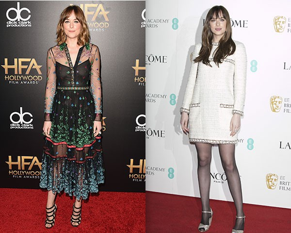 Vestídos mídi e outros mais estruturados também são as suas escolhas fashion (Foto: Getty Images)