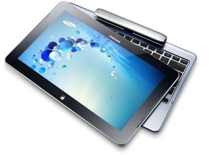 Perto do modelo da HP, Samsung fez um híbrido mais robusto (Foto: Divulgação)