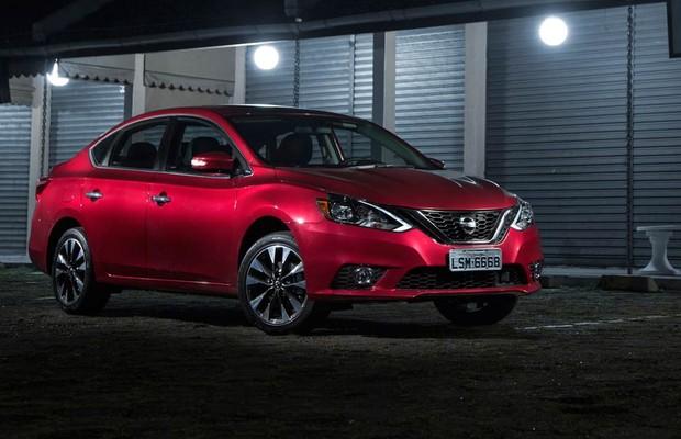Nissan Sentra 2017 (Foto: Fabio Aro/Autoesporte)