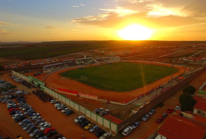 RN - Estádio Edgarzão, em Assú (Foto: Bruno Andrade)