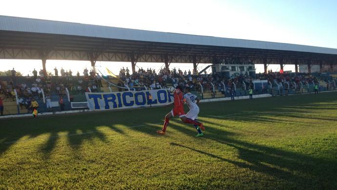 O Palmas está mandando jogos no estádio General Sampaio (Foto: Vilma Nascimento/GloboEsporte.com)