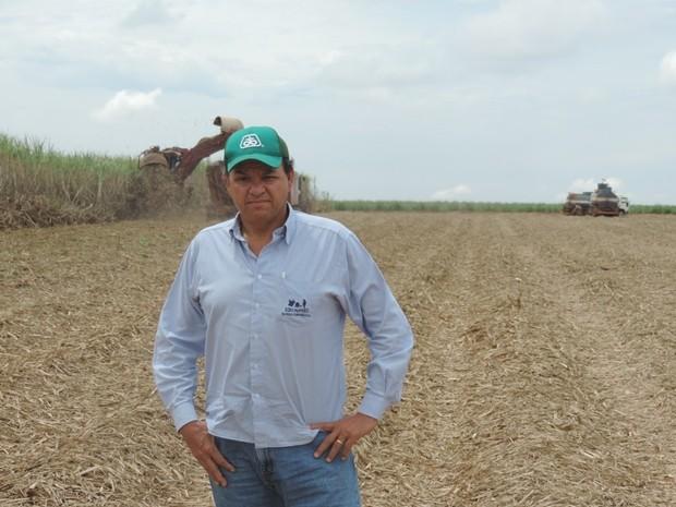 Fábio Campanelli, produtor na região de Altair: '2014 é para ser esquecido' (Foto: Marcos Lavezo/G1)