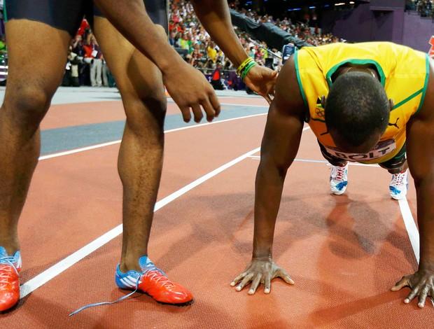 Bolt, 200 m (Foto: Agência Reuters)