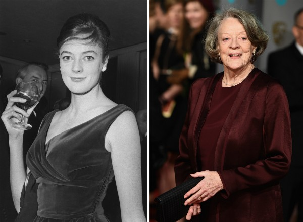 A atriz Maggie Smith (Foto: Getty Images)