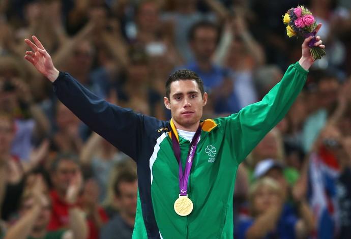 Jason Smyth Mundial Paralímpico de Atletismo (Foto: Getty Images)