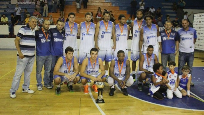 Macaé vice-campeão do estadual de basquete (Foto: Raphael Bózeo / Macaé Basquete)