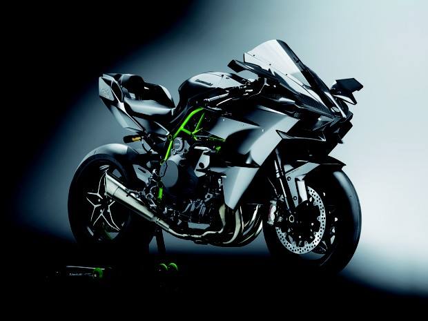 Kawasaki Ninja H2 Carbon (Foto: Divulgação)
