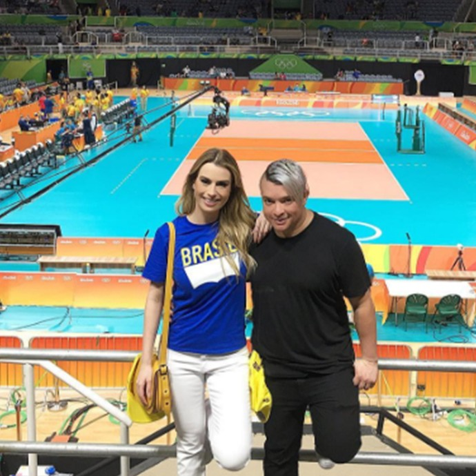Fernanda Keulla na Olimpíada (Foto: Reprodução Internet)