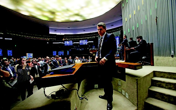 Senador Romero Jucá (Foto: ANDRÉ DUSEK/ESTADÃO CONTEÚDO)