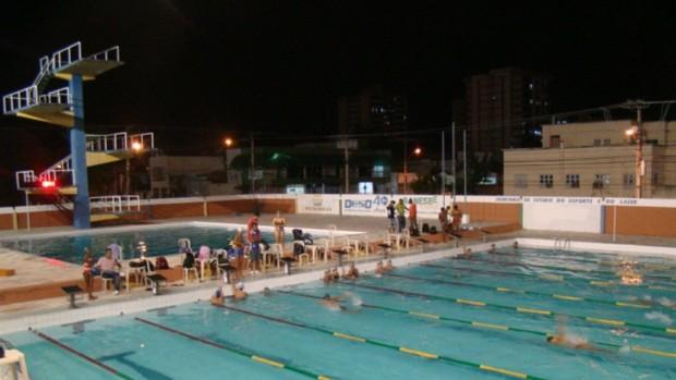Campeonato Absoluto foi realizado no Parque Aquático Zé Peixe (Foto: Divulgação/Agitação)