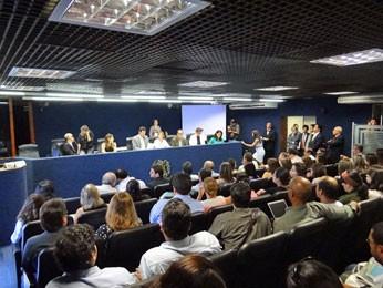 Audiência Pública discute projeto Novo Recife (Foto: Katherine Coutinho / G1 PE)
