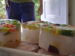 Frutas como manga, maçã, banana e melancia são utilizadas (Foto: Beto Carrero World/Divulgação)