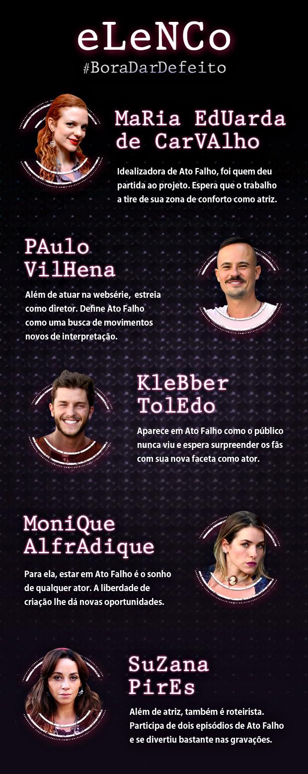 Elenco de Ato Falho (Foto: Ato Falho / TV Globo)