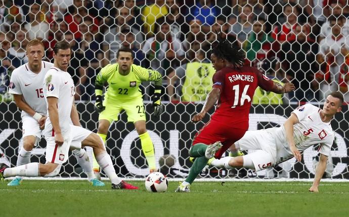 Polônia x Portugal Eurocopa (Foto: Reuters)