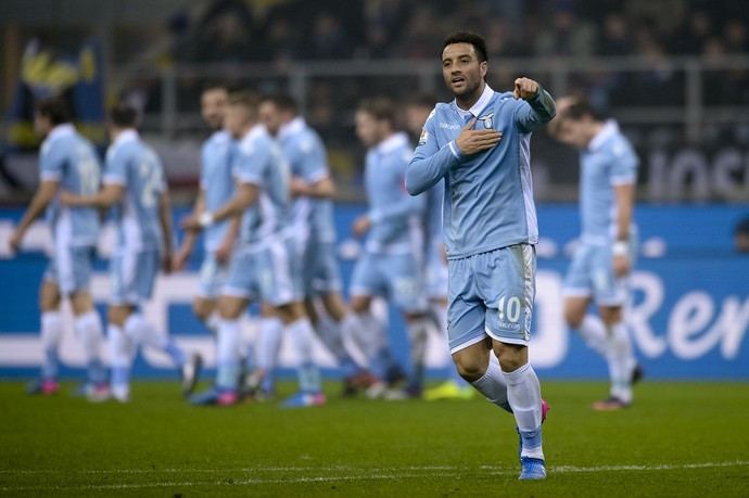 Felipe Anderson Lazio (Foto: Getty Images)