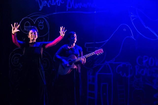 Skellig é o novo espetáculo da Cia Simples (Foto: Camila Picolo)