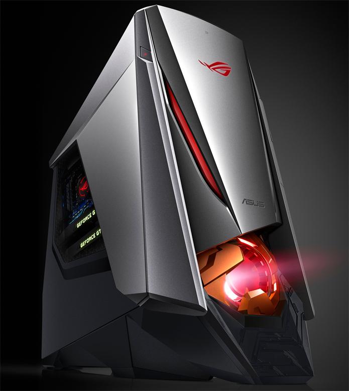 Computador ROG GT51CA tem GTX Titan e Core i7 6700K (Foto: Divulgação/Asus)
