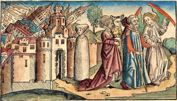 pintura retrata ira de deus destruindo sodoma (Foto: Wikimedia Commons)