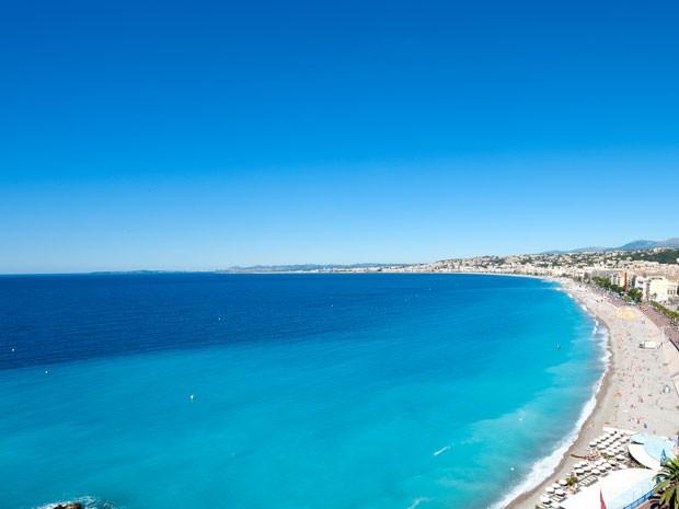 Nice, na França (Foto: Nice Tourism/Divulgação)