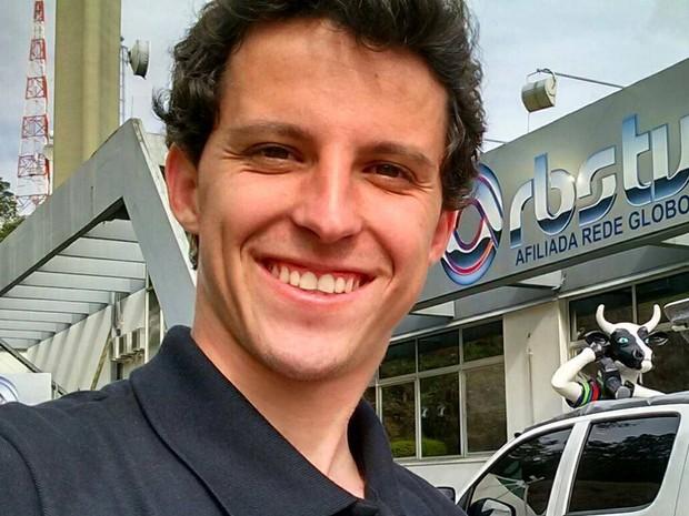 Bruno Mauri da Silva era técnico de externas na RBS TV desde 2012 (Foto: Arquivo Pessoal)