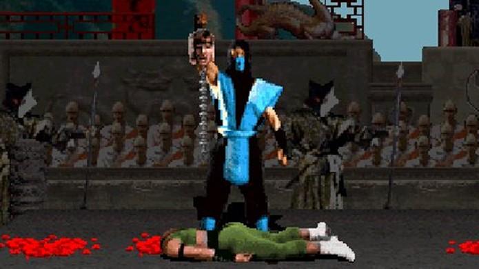 Mortal Kombat foi um dos jogos mais violentos em sua época apesar de brando para os dias de hoje (Foto: Reprodução/GotGame)