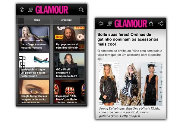 Está esperando o quê para baixar o aplicativo da Glamour? (Foto: Divulgação)