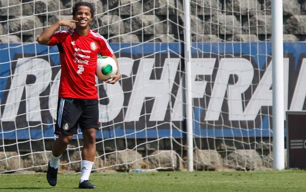 Giovanni Dos Santos treino México (Foto: Reuters)