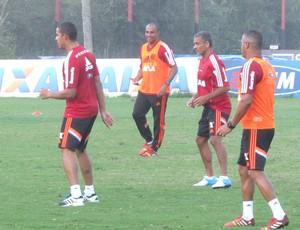 Deivid Treino Flamengo (Foto: Thales Soares)