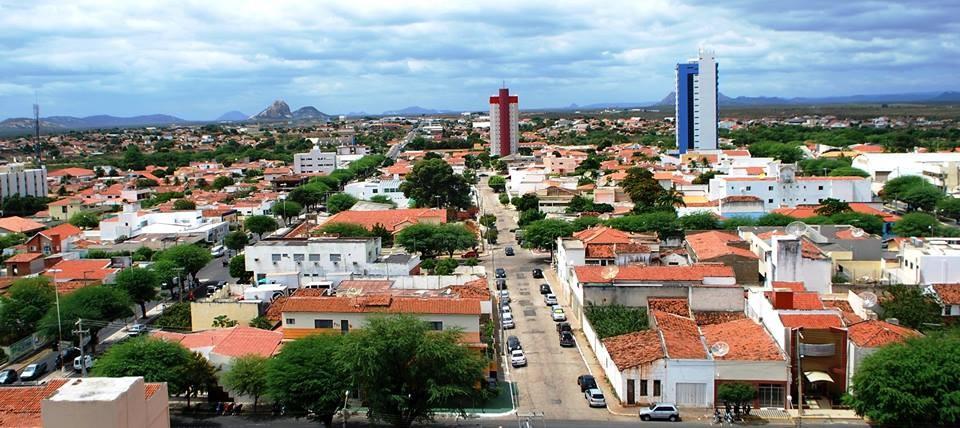 Vista aérea da cidade de Patos (Foto: Ascom)